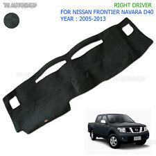 Fit Nissan Navara Frontier D40 2005 10 14 RH Right Dash Mat Dashmat Carpet Cover