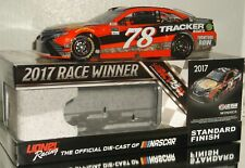 2017 MARTIN TRUEX JR #78 BASS PRO TRACKER BOATS VEGAS WIN AUTOGRAPHED 1/24 CAR