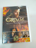 Grimm Quinta Temporada 5 Completa - 5 x DVD Region 2 Español English - 3T