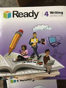 READY WRITING INSTRUCTION GRADE 4 **BRAND NEW**