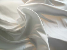High Quality White Thick Satin Fabric Bridal Wedding gown DIY. Sold by Per 0.5M