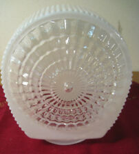 """Vintage Frosted Clear Light Shade Globe Bathroom Vanity Deco 3"""" Fit Replacement"""