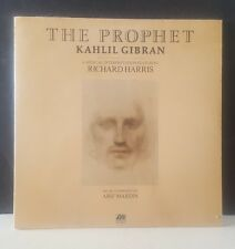 KAHLIL GIBRAN, RICHARD HARRIS The Prophet LP SEALED !! ATLANTIC Arif Mardin New