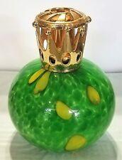"La-Tee-Da Effusion and Fragrance Oil Lamp ""green and yellow"""