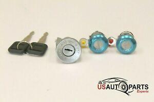 Ignition Cylinder - & - Door Lock Key - Set For - Isuzu NPR NQR NKR ELF 1994-07