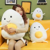 40/60/80cm Kawaii Plush Pillow Egg Jun Toys Stuffed Food Cute Soft Dolls Gift
