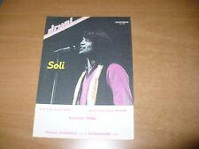SPARTITO MUSICALE SOLI DRUPI SANREMO 1982 DE SCALZI BELLENO EDIZ. USIGNOLO