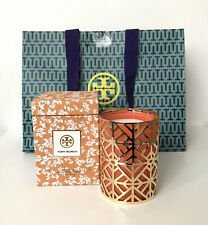 NEW TORY BURCH 797 Madison Peony, Apricot & Amber Hand Poured Candle 190g