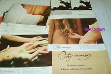 CONTES IMMORAUX ! WALERIAN BOROWCZYK jeu 18 photos cinema erotique vintage 1974