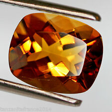 3,64 carats, CITRINE  NATURELLE, HONEY TOP COLOR  (pierres précieuses/ fines)
