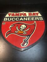 Tampa Bay Buccaneers Shield Interstate Shaped Sign 12 x 12 NFL 1997 OS-421F