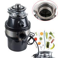 Household Feed Food Waste Processor&Kitchen Sink Garbage Disposal Crusher 110V