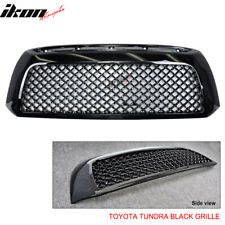 Fits 07-09 Toyota Tundra Black Mesh Grill Grille
