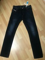 NWT Mens Diesel KRAYVER STRETCH Denim 0837K DARK BLUE REGULAR Slim W28 L32 H6.5
