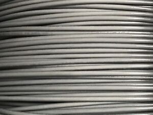 18 GAUGE PRIMARY WIRE GRAY 500 FT AWG STRANDED COPPER POWER GROUND MTW