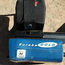 Minelab Eureka Gold Metal Detector, Barely Used-Get Out of the House & Find Gold