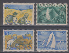 Netherlands boy scouts,workers,sailing boats 1949 MNH **