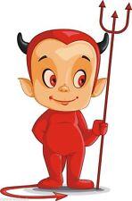 Devil Boy Scary Cartoon Chraracter Sticker Decal Graphic Vinyl Label