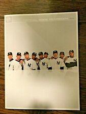 2006 NEW YORK YANKEES Yearbook Alex RODRIGUEZ Derek JETER Mariano JORGE Posada