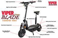 Viper Blade 1000 W 48 V Scooter Eléctrico 2018 Nuevo, Viper Scooter