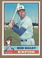 1976 Topps #338 Bob Bailey  Expos   EX   (20% *Rebate w 10 Item Order!)