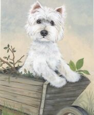 More details for limited edition print westie