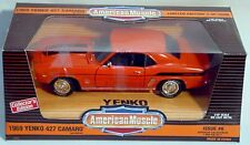 ERTL 1/18 1969 Chevy Camaro Yenko #6 Hugger ORANGE #7722 Supercar Series