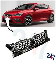 NEW SEAT LEON FR 5F 2017 - 2019 FRONT UPPER CENTER RADIATOR GRILL 5F0853654D