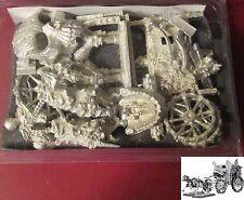 Ral Partha 10-376 Boneyard Express (1) 25mm Miniature Undead Cart Coach Wagon