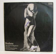 """BRAHMS DIE SCHÖNE MAGELONE 15 ROMANCES DE FISCHER-DIESKAU RICHTER 12""""LP (e327)"""