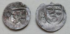 Schweiz, Chur, Bistum 2 Schüsselpfennige Peter II. (1581-1601) + Johann V.