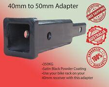 Hitch Receiver Adapter 40mm to 50mm Bike Carrier Cargo Rack Subaru Hyundai Skoda