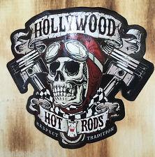 Oldschool ADESIVI Hollywood Hot Rod/ratrod SKULL sticker vintage retrò USA