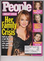 People Mag Lindsay Lohan Leonardo DiCaprio December 20, 2004 011820nonr