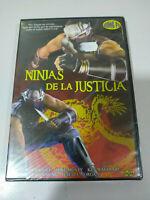 Ninjas de la Justicia  Romano Kristoff Kung Fu - DVD Nuevo - AM