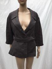 Jenne Maag XL Linen 3/4 Sleeve 2 Button Blazer