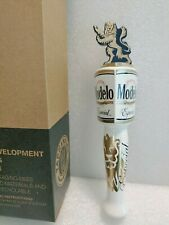 "Modelo Especial Gold Lion Shotgun Mexico Nib 8.5"" Draft Beer Keg Bar Tap Handle"