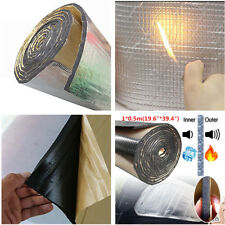 1x Self-Adhesive Car Sound Deadener Road Noise Dampener thermal insulation Foam