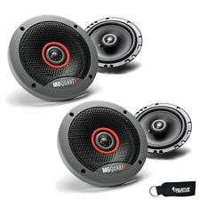 MB Quart Two Pairs Of Formula 6.5 Inch 2 way Coaxial Car Speakers FKB116