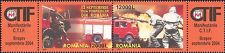 Romania 2004 Fire/Engines/Emergency/Rescue/Firemen/Transport 2v set pr (n13547)