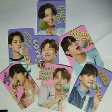 BTS Baskin Robbins Official Promotional 7 member's charm Photocard