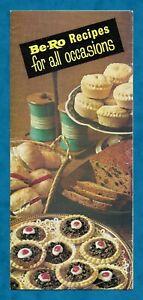 1960s BE-RO SELF-RAISING FLOUR ADVERTISING RECIPE LEAFLET