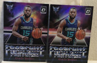 2018-19 Donruss Optic Franchise Features Holo & Purple #4 Kemba Walker - LOT(2)