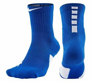 Nike ELITE High Quarter Ankle Socks - SX7625 - Blue 480 - Size S - NEW