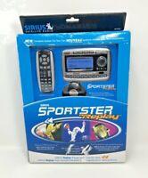Sirius Satellite Radio Sportster Replay SPTK2C Radio & Vehicle Kit Brand New
