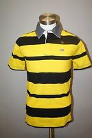 NWT Men's Ecko Unltd Stripe Polo T-shirt Tee Size S/L/XL/2XL/3XL BlkYell 03453