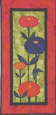 Zinnias applique quilt pattern by Quilts 'n Stuff