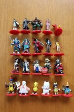 Final Fantasy Coca Cola Promo Mini Figure Color 21 PCS Japan
