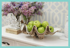 IN STOCK! Hamptons style Vintage Polyresin Clam Shell FREE DELIVERY metro areas