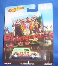 THE BEATLES COLLECTOR HOT WHEELS CARS SGT. PEPPER'S LONELY HEARTS CLUB BAND, NEW
